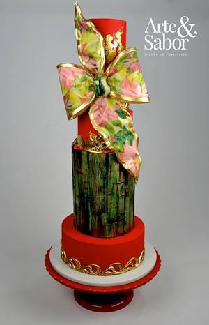 Navidad Fashionista - Cake by José Pablo Vega