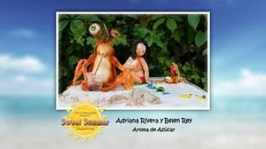 Sweet Summer Collab El ataque de los cangrejos gigantes! - Cake by Aroma de Azúcar