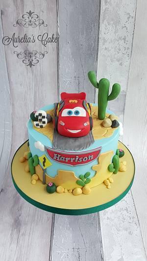 Lightning McQueen Cake - Cake by Aurelia's Cake