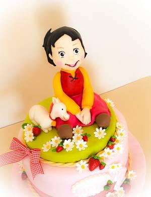 Heidi cake - Cake by donatellacakes72