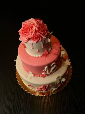 Roses  - Cake by Rozy