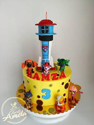 Paw patrol cake - Cake by Torte Amela