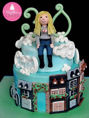 In the City - Cake by Shawna McGreevy