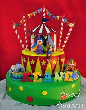 Circus Cake - Cake by Sweet Success