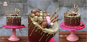 All i want is .... chocolate :D - Cake by Sylwia