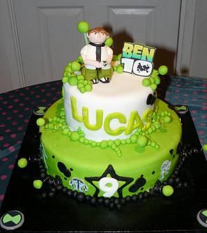 Ben 10 cake - Cake by Krazy Kupcakes