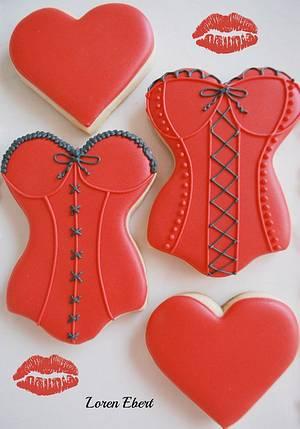 Sexy Valentine's Day Bustiers! - Cake by Loren Ebert