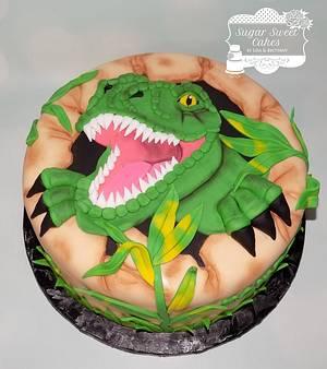 Dinosaur - Cake by Sugar Sweet Cakes