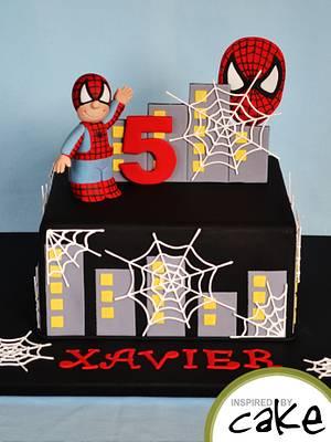 Spider Boy.... - Cake by Inspired by Cake - Vanessa