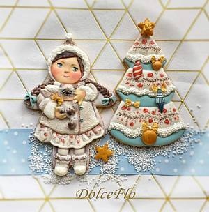 My Christmas Gift  - Cake by DolceFlo