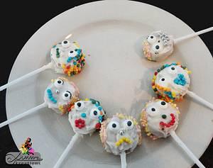 Wierd Scary Funny Cakepops - Cake by Simmz