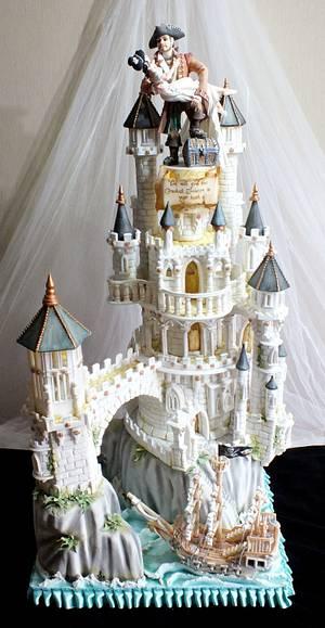 Cake International Gold Award Wedding Cake - Cake by Mother and Me Creative Cakes