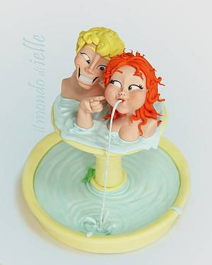 Fontaine - Cake by il mondo di ielle