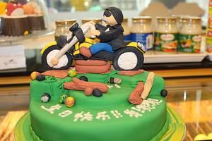Biker Cake - Cake by Reggae's Loaf