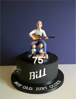 Bill's still Rockin'... - Cake by CakeyCake