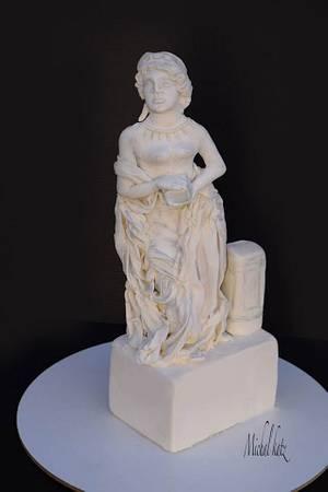 pandora greec sculpture - Cake by michal katz