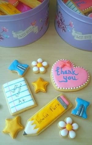 Thank you teachers!  - Cake by SugarMagicCakes (Christine)