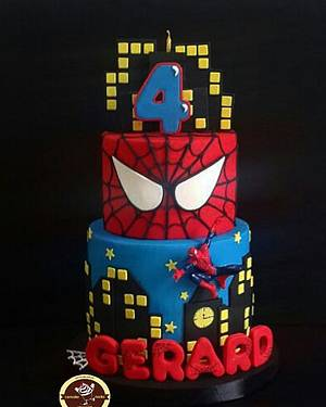 Spiderman - Cake by Astried