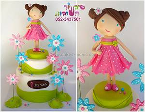 doll cake - sweet and simple - Cake by sharon tzairi - cakes-mania