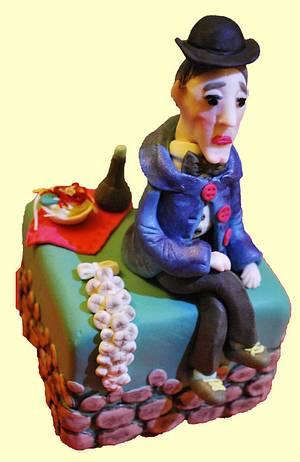 Il Principe Antonio De Curtis ... in arte Totò  !!! - Cake by Iwona Kulikowska