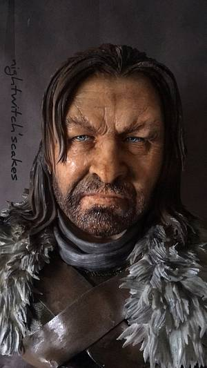Ned Stark / Cake of Thrones Collaboration  - Cake by Nightwitch
