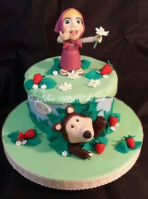 Masha and Bear  - Cake by silvia B.cake art