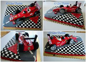 Ferrari Cake - Cake by Sara Batista