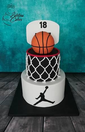 Basketball cake - Cake by Zaklina