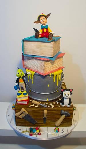 My award winning Pinocchio cake - Cake by Sweet Prelude