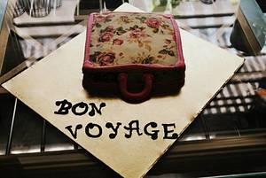 Bon Voyage - Cake by The Baker's Chimney