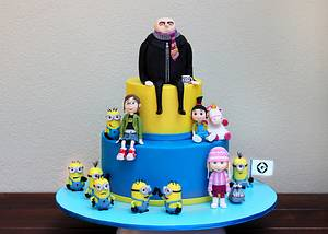 Despicable Me - Cake by Kidacity