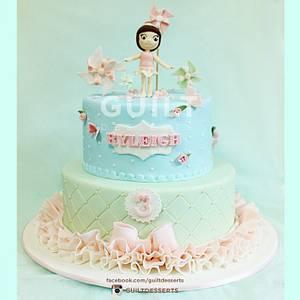 Shabby Chic - Tutu Cake - Cake by Guilt Desserts