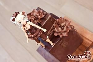 Salon du Chocolat in Brussels - Cake by ChokoLate