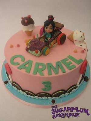 Wreck It Ralph - Sugar Rush Themed Cake - Cake by Sam Harrison