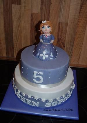 Princess Sofia (Sophia) The First - Cake by Adéla