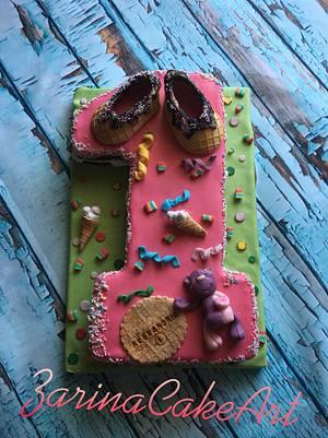 Cake 1st birthday  - Cake by Zarina