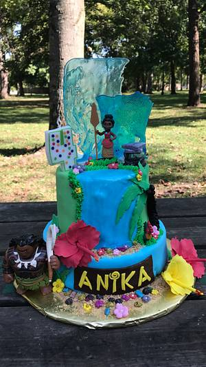 Moana cake - Cake by Osweetcakes