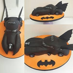 Batmobile cake xx - Cake by My Darlin Cakes