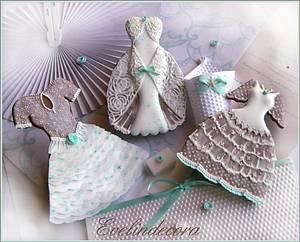 Wedding cookies - Cake by Evelindecora