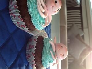 Cupcakes - Cake by Radhika