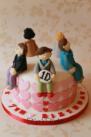 One Direction '1D' cake - Cake by Kerry Rowe