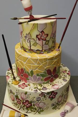Art of Gardening - Cake by Dina