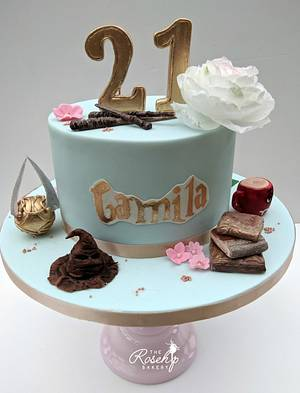 Harry Potter Birthday  - Cake by The Rosehip Bakery