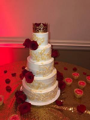 Sweet 15 Birthday Cake - Cake by Tiffany DuMoulin