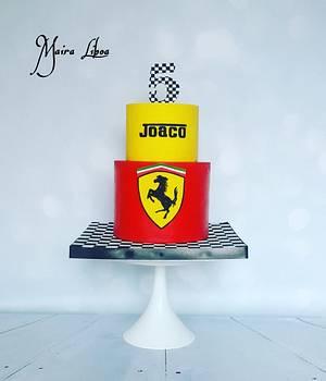 Ferrari - Cake by Maira Liboa