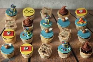 Harry Potter inspired cupcakes - Cake by Smita Maitra (New Delhi Cake Company)