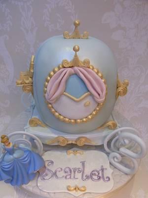 Cinderella Carriage Cake...x. - Cake by Lulu Belles Cupcake Creations
