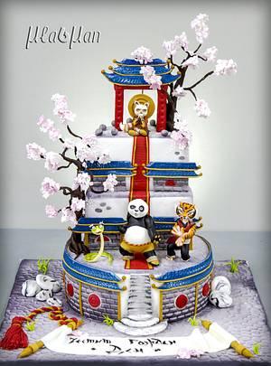 Kung Fu Panda - Cake by MLADMAN