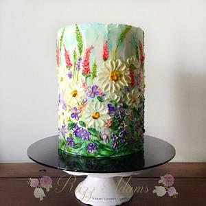 Wild Flowers  - Cake by Razz Adams