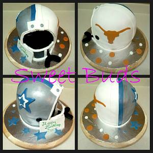 Cowboys and Longhorns - Cake by Angelica